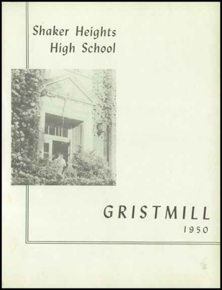 1950 Shaker Heights High School Yearbook Page 5