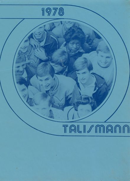 1978 Mann High School Yearbook Cover