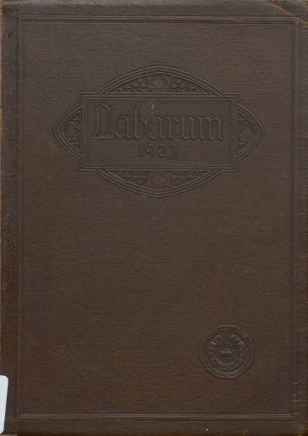 1923 St. Mary Cathedral High School Yearbook Cover