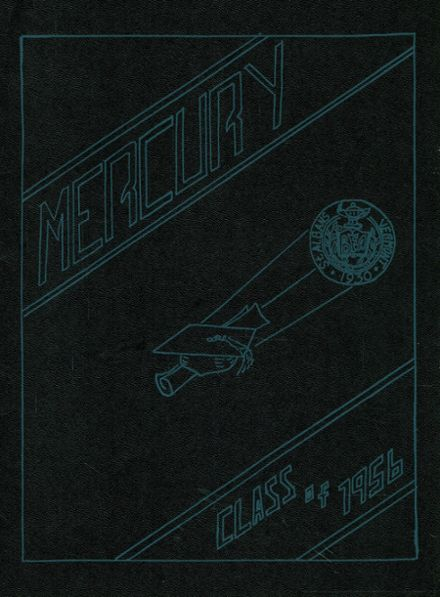 1956 Bellows Free Academy Yearbook Cover
