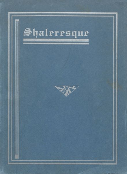 1934 Shaler Area High School Yearbook Cover