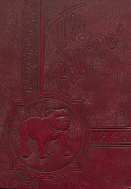 1946 Jay High School Yearbook Cover