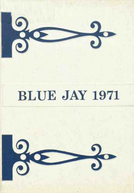 1971 Charleston High School Yearbook Cover