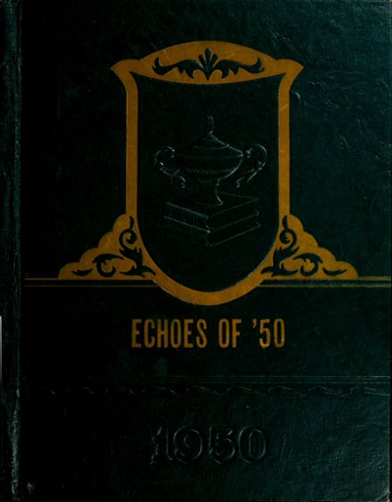 1950 North Salem High School Yearbook Cover