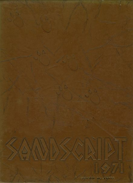 1971 Cocoa High School Yearbook Cover