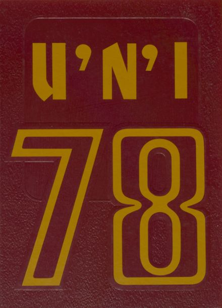 1978 University High School Yearbook Cover