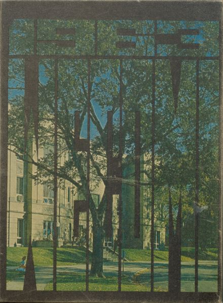 1963 Wheaton Community High School Yearbook Cover