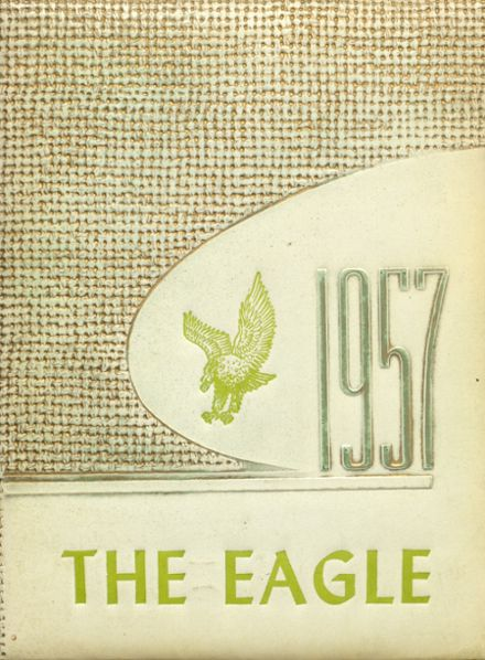 1957 Stratton High School Yearbook Cover