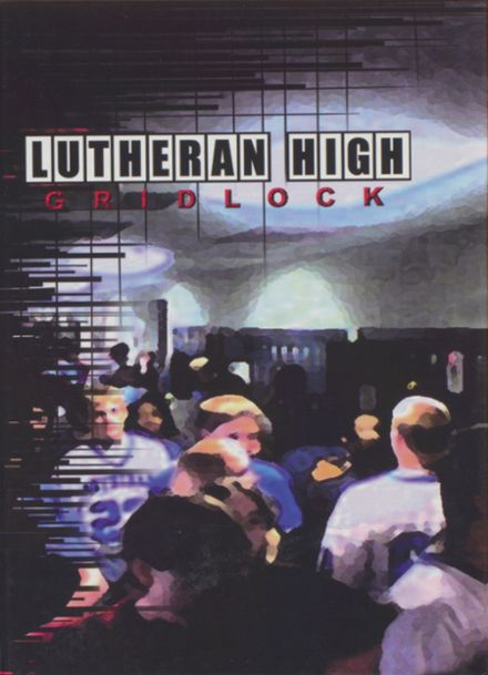 2005 Lutheran High School Yearbook Cover