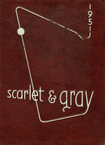 1951 West Lafayette High School Yearbook Cover
