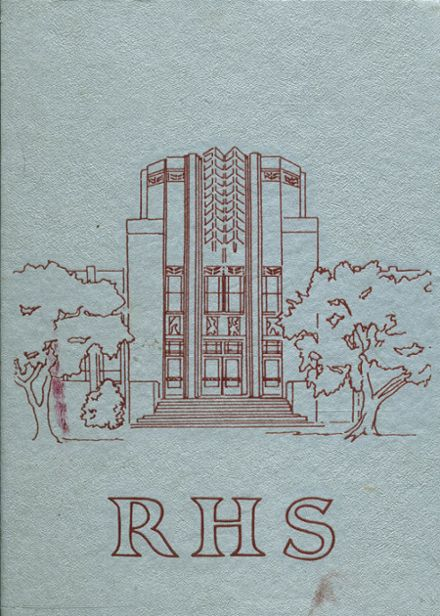 1977 Ruston High School Yearbook Cover
