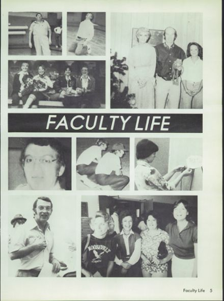 1981 Roosevelt High School Yearbook Page 9