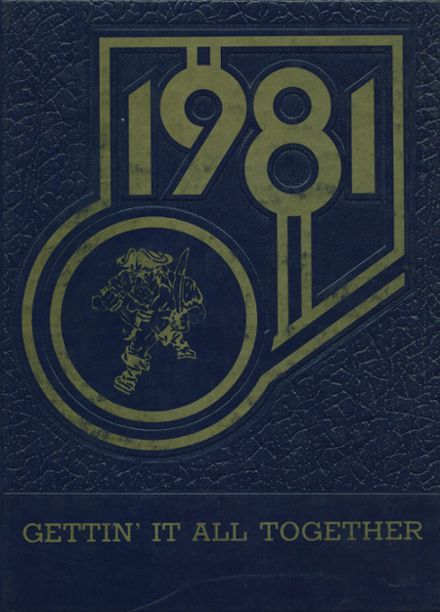 1981 Ajo High School Yearbook Cover