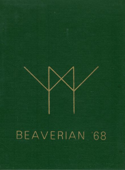 1968 Beaver River Central High School Yearbook Cover