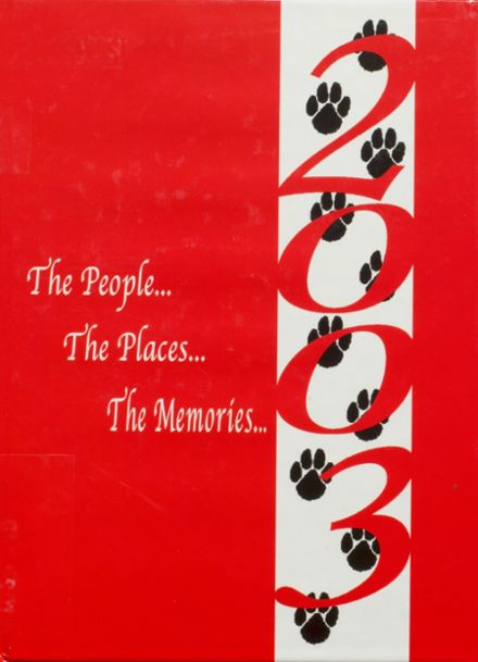 2003 Illinois Valley High School Yearbook Cover