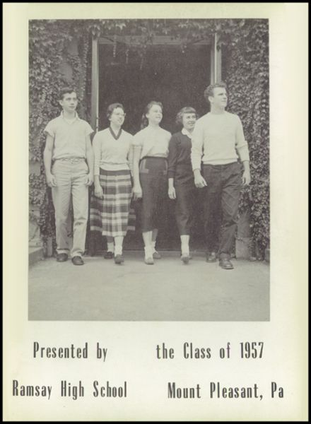 1957 Ramsay High School Yearbook Page 5
