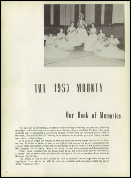 1957 Ramsay High School Yearbook Page 6