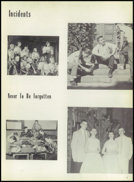 1957 Ramsay High School Yearbook Page 7