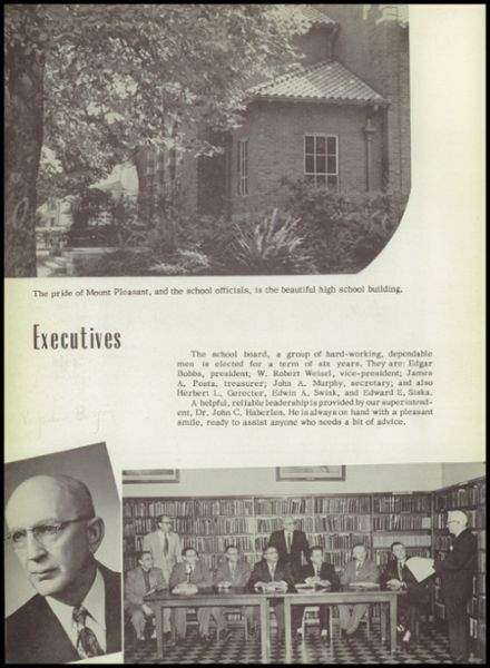 1957 Ramsay High School Yearbook Page 8