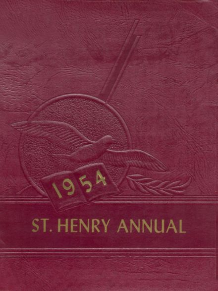 1954 St. Henrys High School Yearbook Cover
