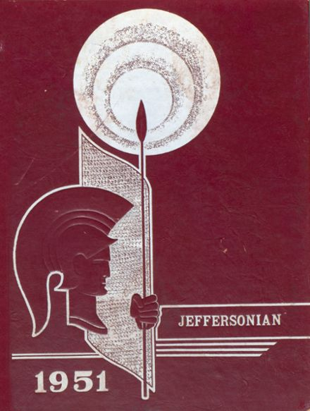 1951 Gray High School Yearbook Cover
