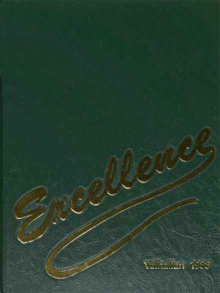 1988 Fremd High School Yearbook Cover