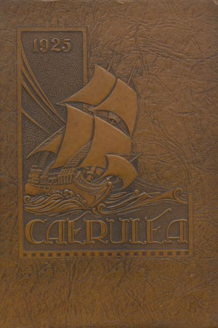 1925 Long Beach Polytechnic High School Yearbook Cover