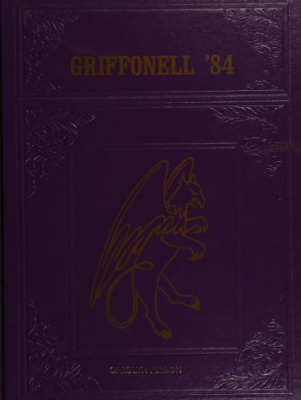 1984 Griffith Institute High School Yearbook Cover