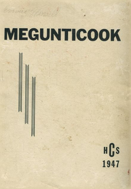 1947 Camden High School Yearbook Cover