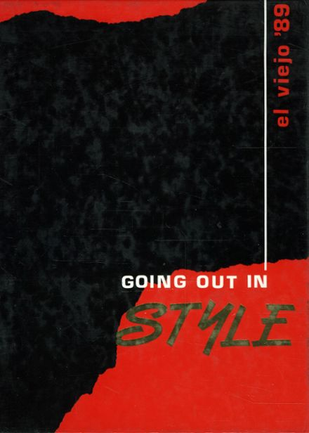 1989 Mission Viejo High School Yearbook Cover