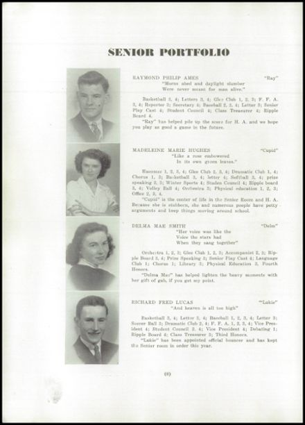 1945 Hartland Academy Yearbook Page 8