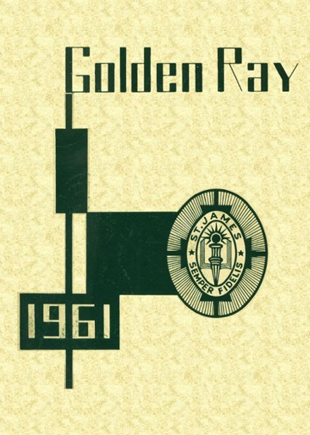 1961 St. James High School Yearbook Cover