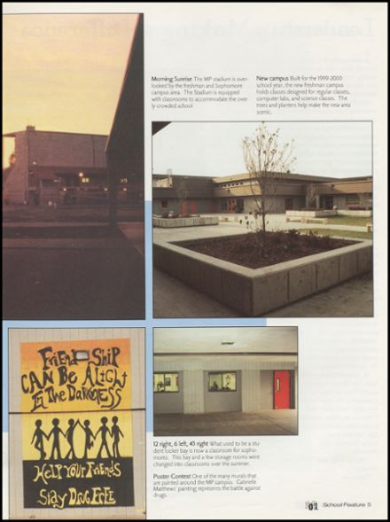 2001 Marysville-Pilchuck High School Yearbook Page 9