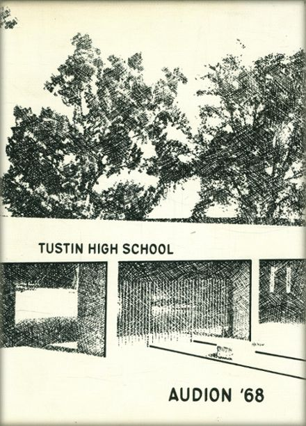 1968 Tustin High School Yearbook Cover