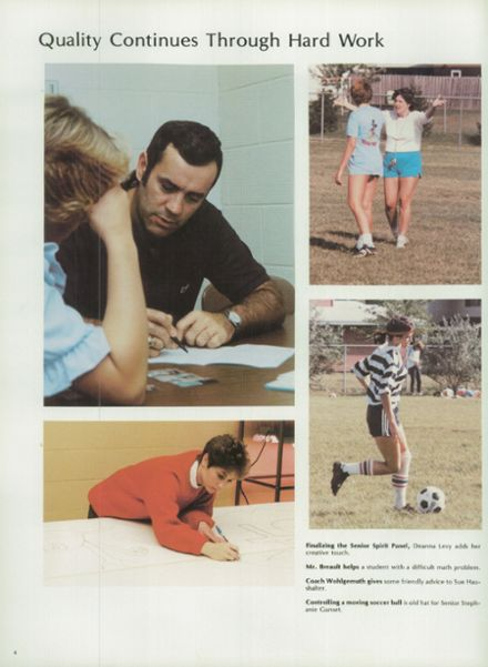 1984 Schaumburg High School Yearbook Page 8