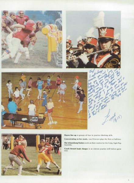 1984 Schaumburg High School Yearbook Page 9