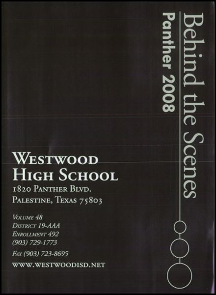 2008 Westwood High School Yearbook Page 5