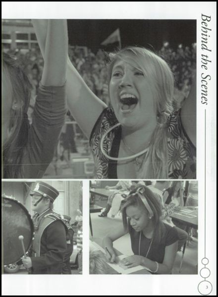 2008 Westwood High School Yearbook Page 7