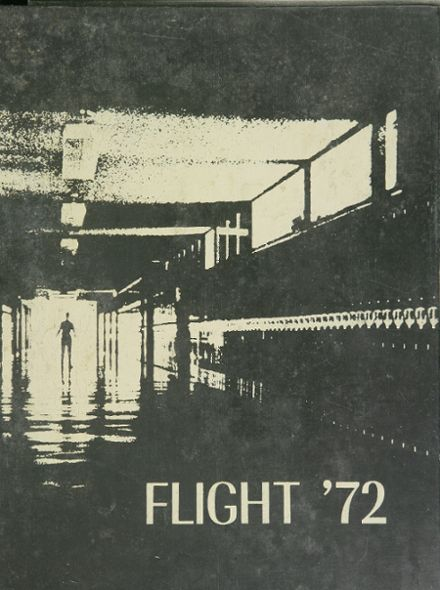 1972 Edsel Ford High School Yearbook Cover