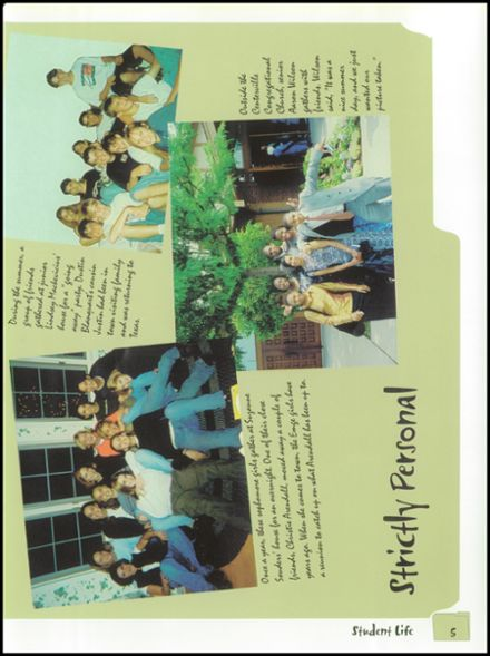 1999 Belleville Township West High School Yearbook Page 9