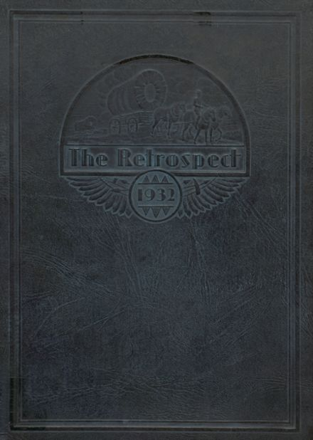 1932 Blume High School Yearbook Cover