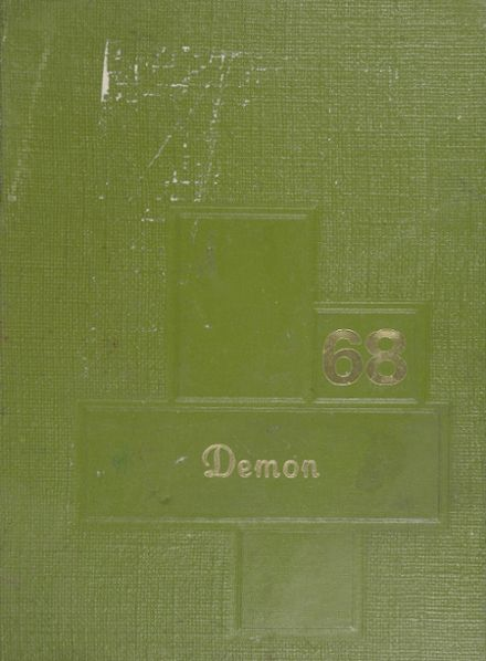 1968 Lamoni High School Yearbook Cover