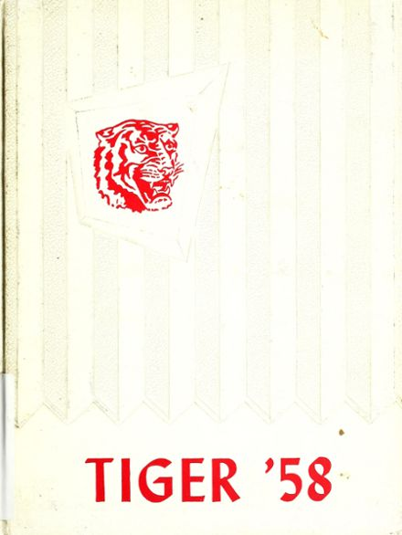 1958 Simms High School Yearbook Cover