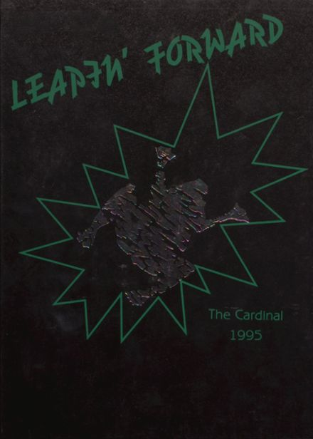 1995 Taylor County High School Yearbook Cover