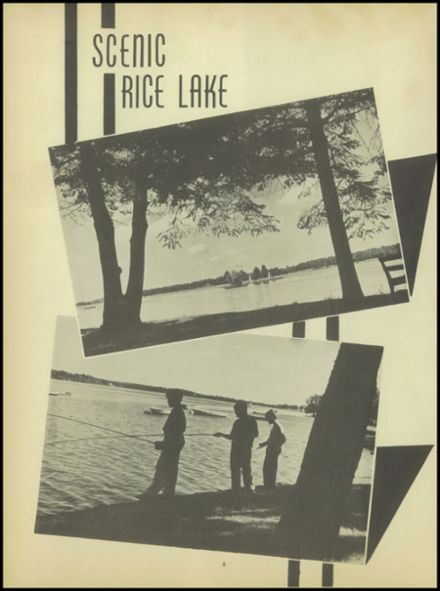1950 Rice Lake High School Yearbook Page 4