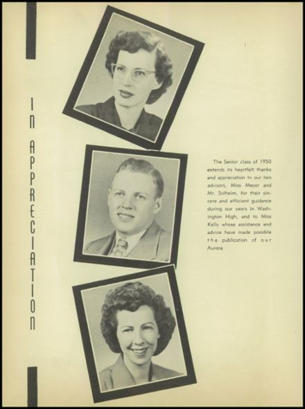 1950 Rice Lake High School Yearbook Page 8