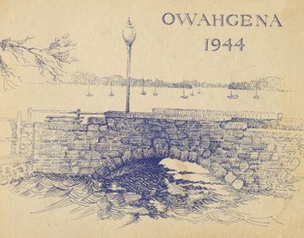 1944 Cazenovia High School Yearbook Cover