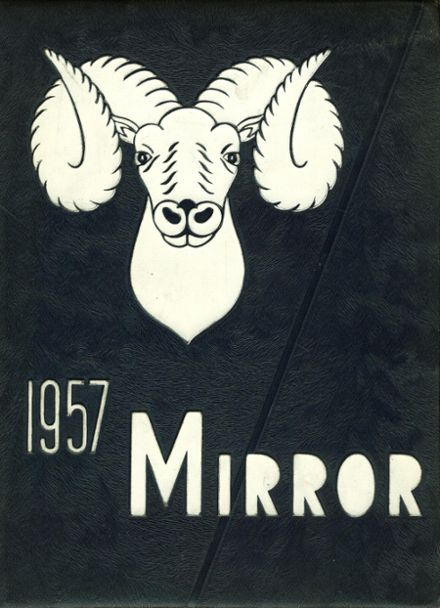 1957 Manual Training School Yearbook Cover