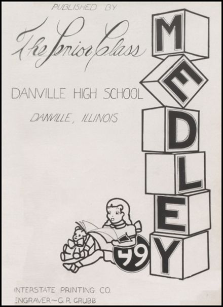 1949 Danville High School Yearbook Page 5