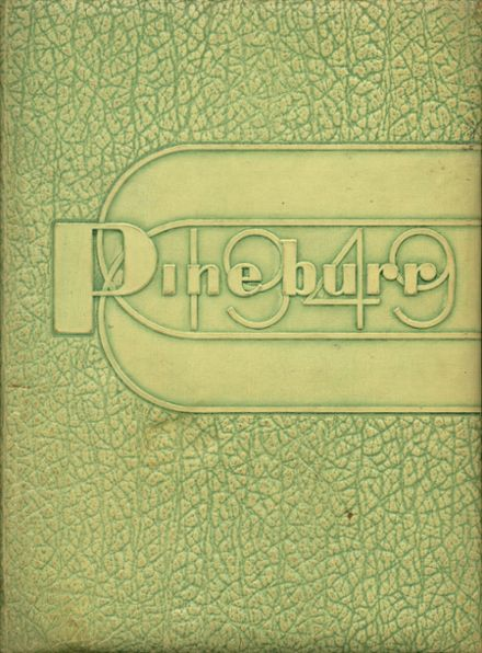 1949 Weiser High School Yearbook Cover
